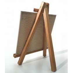 Cavalete de madeira para azulejo 15x15cm