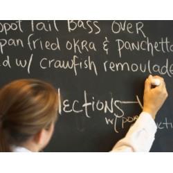 Vinil autocolante quadro ardozia - Blackboard
