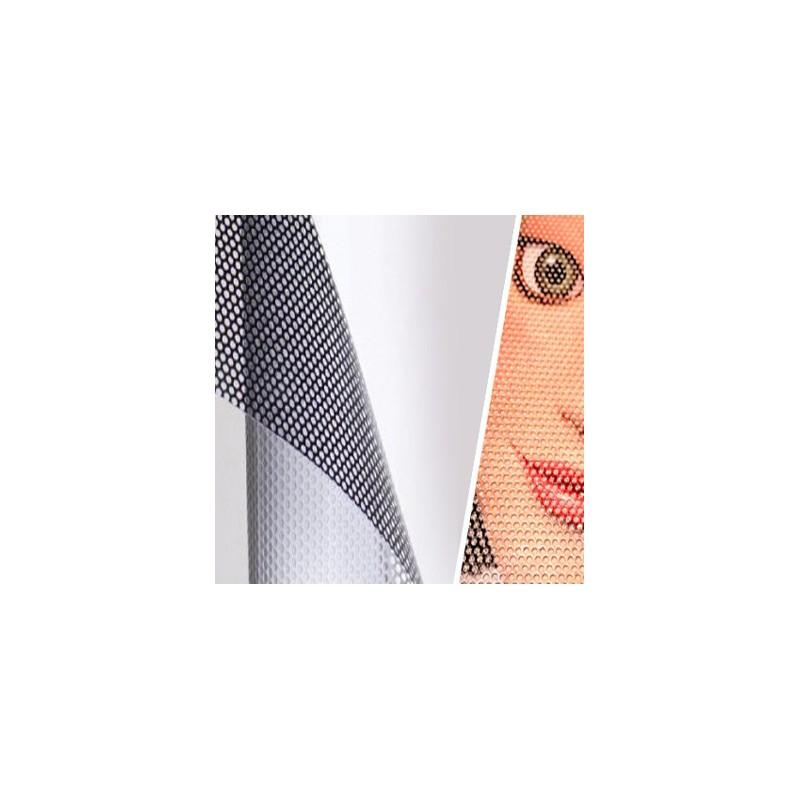 Artesanato Uniart ~ Impress u00e3o vinil adesivo micro perfurado Cadigital, Lda